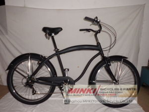 Alloy Classic 26 Inch Men′s Beach Bike Beach Cruiser Bicycle pictures & photos