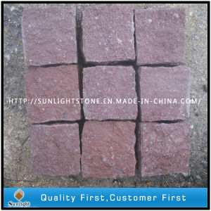 Flamed Granite Cube/ Brick Paving (Putian Red) pictures & photos