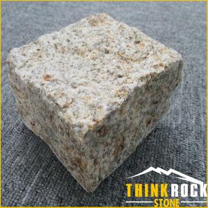 Yellow Granite Cube Paving Stone