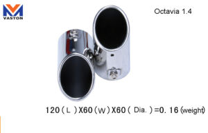 Exhaust/Muffler Pipe for Auto/Octivia1.4, Made of Stainless Steel 304b pictures & photos