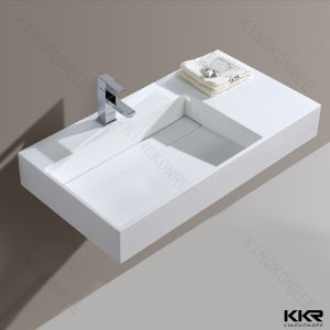Stone Countertop Washing Hand Hotel Bathroom Basin pictures & photos