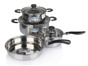 8PCS Set Stainless Steel Cookware Set pictures & photos