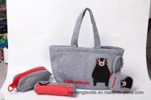 Fashion Knitting Fabric Tote Shopping Bag