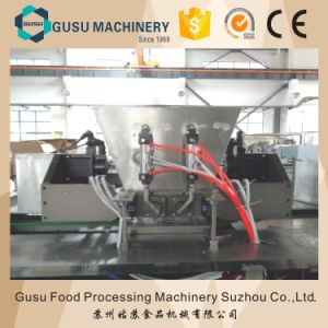 ISO Snack Food Semi Auto 100kg/H Chocolate Moulding Depositor Machine pictures & photos