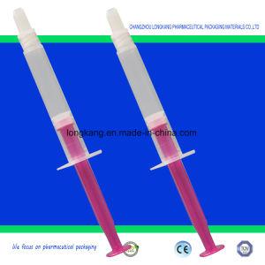 3ml Luer Lock White Gasket Purple Plunger pictures & photos