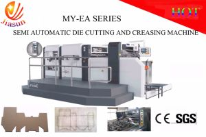 Semi-Automatic Die-Cutting and Creasing Machine pictures & photos