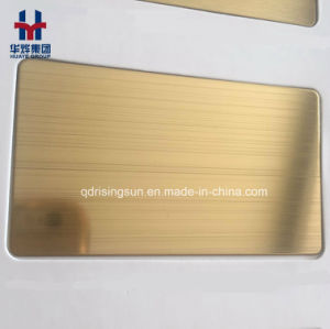 High Quality Stainless Steel Colored Sheet for Elevator Wall Door Building Project Decoration pictures & photos