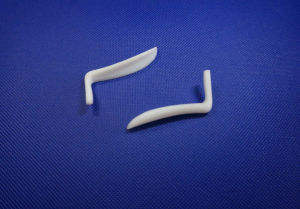 White Silica Gel Nasal Implant pictures & photos