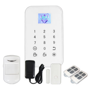 Intelligent Wireless GSM Alarm System with TFT Color Screen and APP pictures & photos