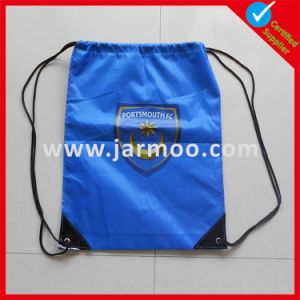 Cheap Custom Blue Drawstring Backpack Bag pictures & photos