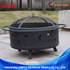 Stable and Safe Guarantee Charcoal Fire Pits Grill with Cover pictures & photos
