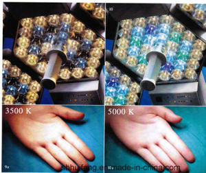 Adjust Colour Temperature LED Shadowless Surgical Light with Ce (SY02-LED5+5) pictures & photos