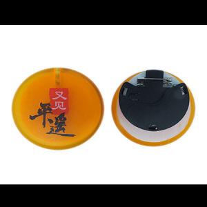 Promotion Gift LED Label Pin for Celebration pictures & photos