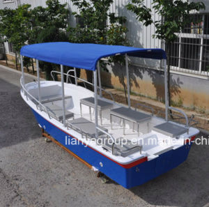Liya 5.8m FRP Panga Boat Passenger Boats for Sale pictures & photos