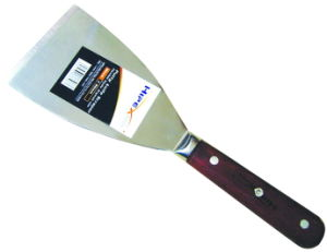 Drywall Tool, Scraper, Putty Knife with Wooden Handle pictures & photos