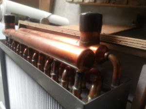 Copper Tube Water to Air Heat Exchanger pictures & photos