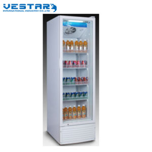 Home Refrigerator Showcase with Single Glass Door pictures & photos