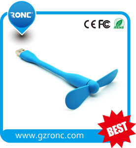 Promotional Gift 1c Logo Printing Portable USB Mini Fan pictures & photos