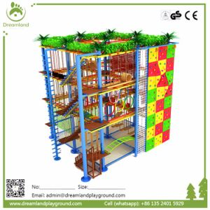 Children Enjoy Playing Rope Course Adventure Rope Course pictures & photos
