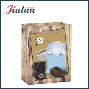 Promotion Wholesale Men′s Gift Packing Shopping Paper Gift Bag pictures & photos