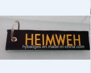 Belt Key Accessories, Keychain with Embroidering Logo (GZHY-KA-007) pictures & photos