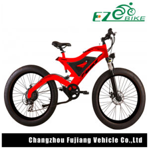 Full Suspension Electric Mountain Bike with Long-Lasting Battery pictures & photos