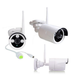 Wdm Security WiFi Camera System 4chs WiFi NVR Kit IP Camera pictures & photos