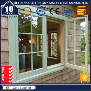 Best Ventilation Design Aluminum Casement Louver Window (GR-50) pictures & photos