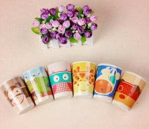 Biodegradable Bamboo Fiber Cup with Print (BC-CP1004) pictures & photos
