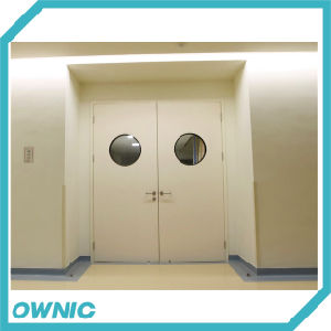 Hot! Manual Swing Door One and Half Leaf (double open) pictures & photos