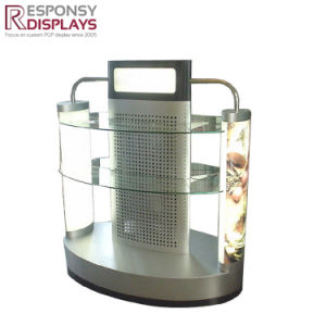 Metal and Acrylic Clothes Display Stand Floor Standing T-Shit Display pictures & photos