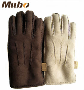 Warm Artificial Wool Women Gloves for Winter pictures & photos