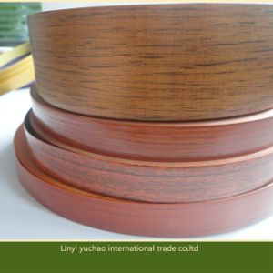 High Glossy Wood Grain PVC Edge Banding for Furniture pictures & photos