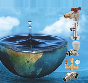 Brass Ball Valve with Steel Butterfly Handle (NV-2013 STEEL F*F) pictures & photos