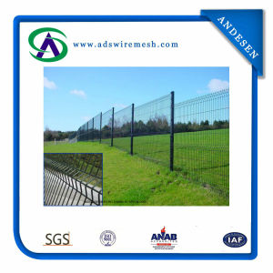 Curved PVC Coated Welded Wire Mesh Fence\3 Bends Wire Mesh Fence pictures & photos