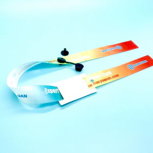 Security MIFARE Classic 1K RFID Woven Wristband With Anti-Remove Buckles pictures & photos