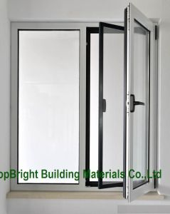 China Supplier Electrophorese Side Hung Aluminum Window with Screen Net pictures & photos