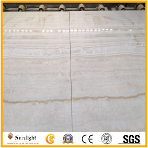 White Wooden Vein/Yellow Onyx for Floor/Wall Tiles pictures & photos