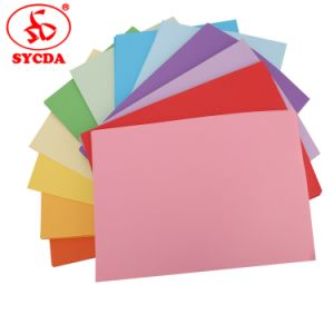 Blank Color Paper Woodfree Printing Paper in Sheet pictures & photos