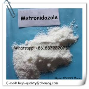 Metronidazole Factory Supply Top Quality Pharm Grade Metronidazole CAS 443-48-1 pictures & photos