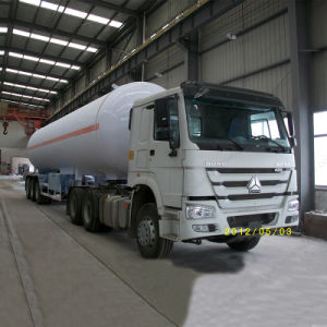 Steel Leaf Spring Suspension 45000L LPG Semi-Trailer pictures & photos