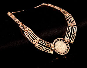 Fashion Bracelet Ring Earring Necklace 4 PCS Jewelry Set pictures & photos