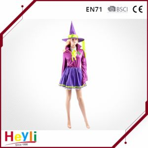 Sexy Halloween Witch Cosplay Costume for Women Girls pictures & photos