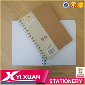 Custom High Quality A4 A5 Eco Friendly Kraft Paper Spiral Notebook pictures & photos
