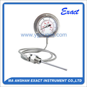 Capillary Temperature Gauge-Gas Filled Temperature Gauge-Mechanical Thermometer pictures & photos