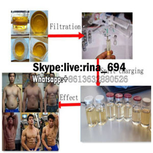 Dark Yellow Liquid Injectable Trenbolone Enanthate Parabolan Strongest for Muscle Building pictures & photos
