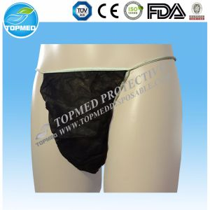 Disposable Men′s Bikini Underwear for Travel pictures & photos
