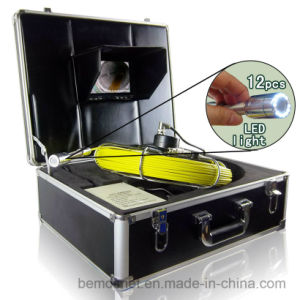 Underwater Sewer Pipe Inspection Camera with 20-100m Cable pictures & photos