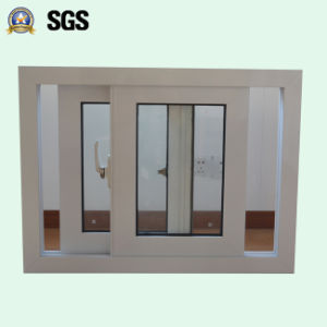 White Colour Powder Coated Aluminum Sliding Window K01060 pictures & photos