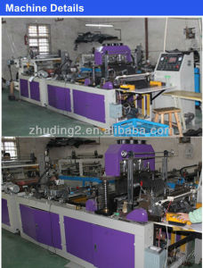 Wenhzou Non Woven Zipper Bag Making Machine pictures & photos